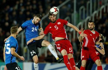 International Friendly - Georgia vs Estonia