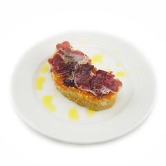 Pantumaca, receta típica de Cataluña.
