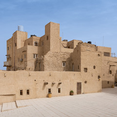 Residential buildings at the Monastery of Saint Paul the Anchorite (aka Monastery of the Tigers), dates to the fifth century AD and located in the Eastern Desert, near the Red Sea mountains, Egypt