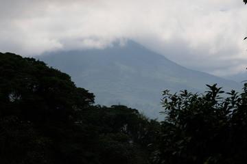 View at Arenal vulcano