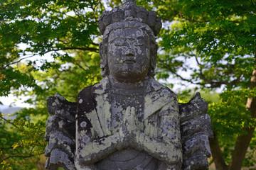 Senju Kannon in the Hirosawa Pond-1