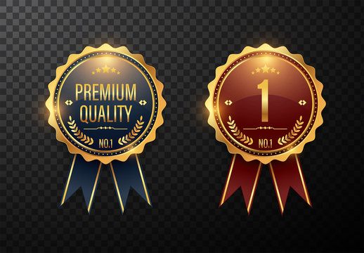 2 Premium Quality Award Badge Layouts