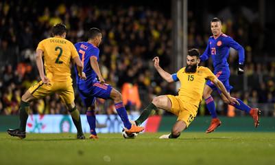 International Friendly - Australia vs Colombia