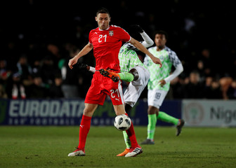 International Friendly - Nigeria vs Serbia