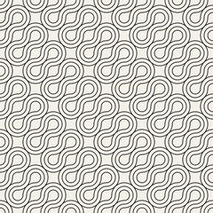 Vector seamless pattern. Modern stylish abstract texture. Repeating geometric tiles