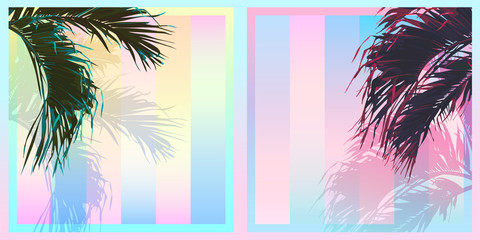 tropical sweet pastel gradient background B