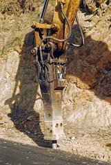 excavator jackhammer drill head