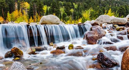 Long Exposure Fall River Colorado w/o Log