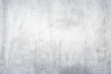 Texture of dirty white concrete wall for background
