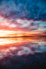 Colorful Burst Sunset
