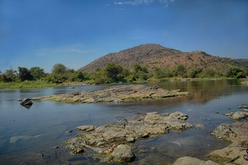 Cauvery River water body