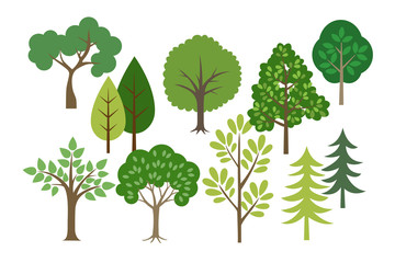 森林、木セット
