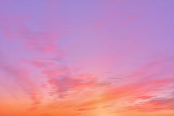 Sonnenaufgang - Hintergrund