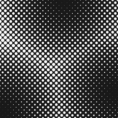 Halftone dotted background pattern design - abstract vector graphic