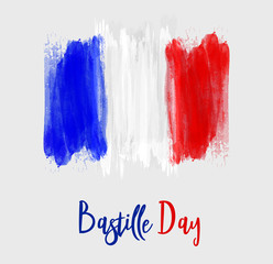 Bastille day background