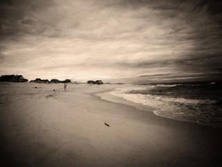 Ocean Beach. Canvas