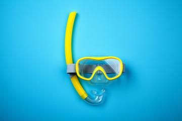 Fototapeta Snorkeling mask and tube obraz