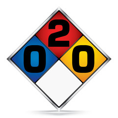 International  Diamond 0-2-0 Symbols,White,Blue,Red,Yellow Warning Dangerous icon on white background,Attracting attention Security First sign,Idea for,graphic,web design,Vector,illustration,EPS10