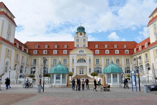 Kurhaus von Binz auf Rügen