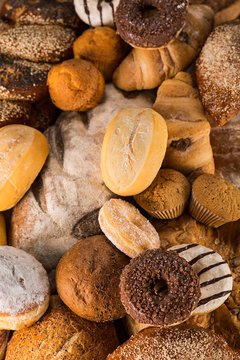 Assorted Breads and Pastries