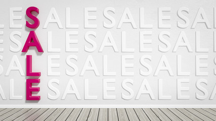 sale background with words sale