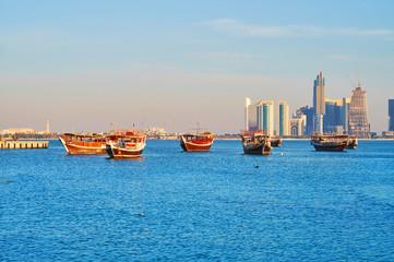 Persian Gulf in Doha, Qatar