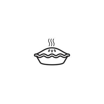 pie icon. sign design