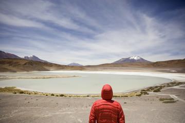 Laguna Hedionda in Bolivia