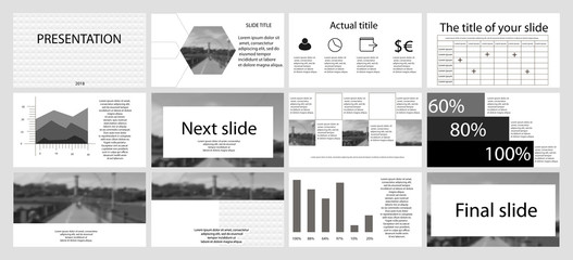 Presentation templates and infographics elements background. Use for business annual report, flyer, leaflet, advertising, corporate marketing,