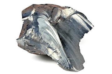 99.999% fine crystalline selenium isolated on white background