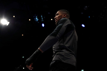 Anthony Joshua Work-Out
