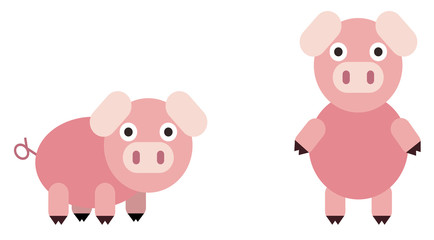 Rounded Pig Set