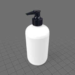 Pump dispenser for hand soap