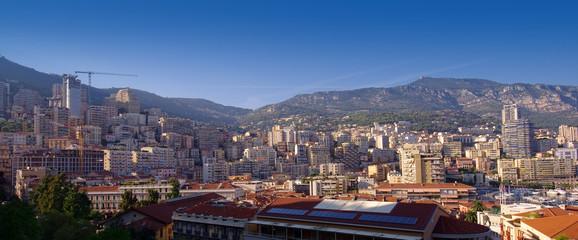 Monte Carlo cityscape in Monaco