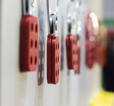 The Red Lock out hasp ; business background