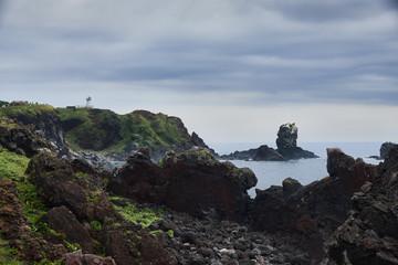Seopjikoji cape in Jeju island, Korea