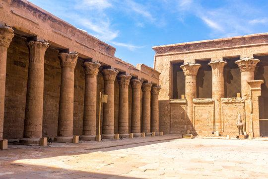 Horus Temple , Edfu, Egypt