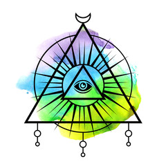 All-seeing eye symbol