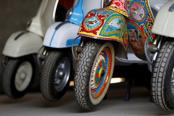The Wider Image: A labour of love: Vespa in Pakistan