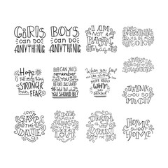 Lettering Colletion.