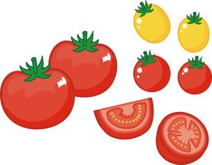 トマトのイラスト素材