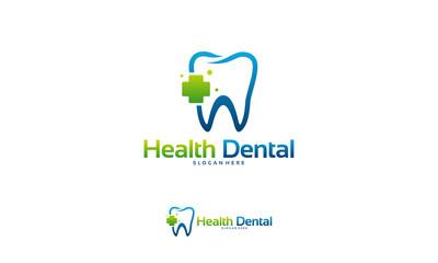 Health Dental logo designs concept vector, Dental Clinic logo template designs
