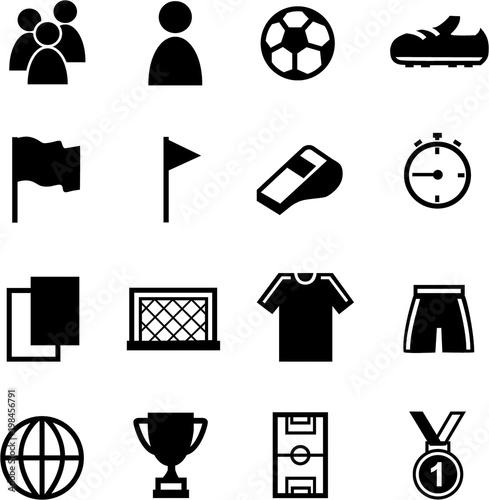 Fussball Grafiken Icons Wm Em Fussballspiel Bundesliga