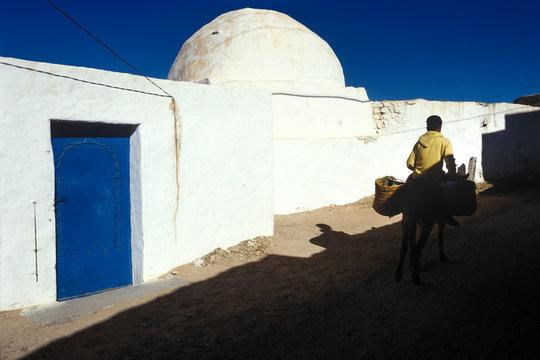 Kasserine, Tunis, Tunisia - village