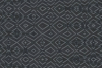 Ion Fabric texture, futuristic textile background in Neutral Gray color