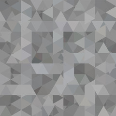 Geometric pattern, triangles vector background in gray' tone. Illustration pattern