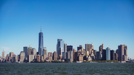 Manhattan View from the boat