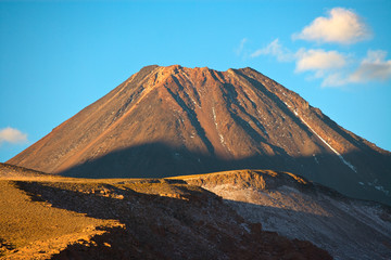 Chiliques Volcano in the Altiplano (High Andean plateau), Atacama desert, Chile, South America