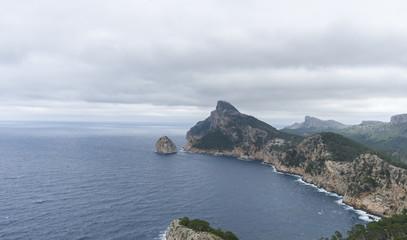 Mediterranean, Cape Formentor in Mallorca island, Spain