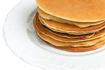 stack of delicious pancakes